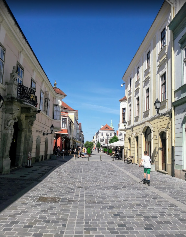 Győr király utca